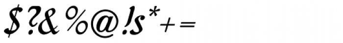 Behrens Kursiv Font OTHER CHARS