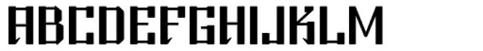 Beijing Bold Font UPPERCASE