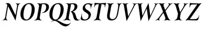Belda Cond Medium Italic Font UPPERCASE