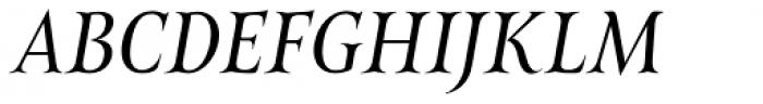 Belda Cond Regular Italic Font UPPERCASE