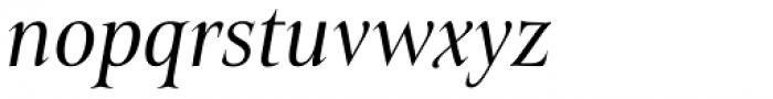 Belda Cond Regular Italic Font LOWERCASE