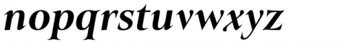 Belda Ext Extra Bold Italic Font LOWERCASE