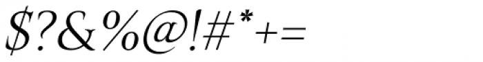Belda Ext Light Italic Font OTHER CHARS