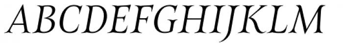 Belda Ext Light Italic Font UPPERCASE
