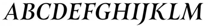 Belda Ext Medium Italic Font UPPERCASE