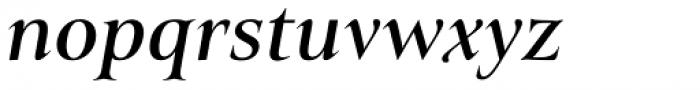 Belda Ext Medium Italic Font LOWERCASE