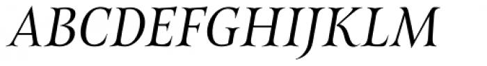 Belda Norm Book Italic Font UPPERCASE