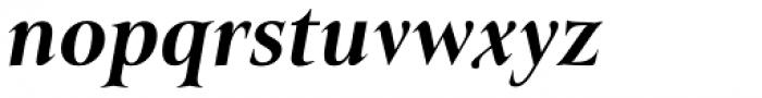 Belda Norm Extra Bold Italic Font LOWERCASE