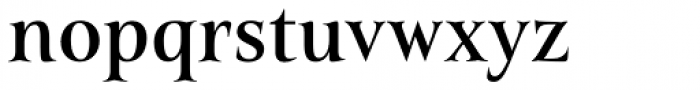 Belda Norm Medium Font LOWERCASE