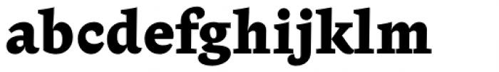 Beletria Heavy Font LOWERCASE