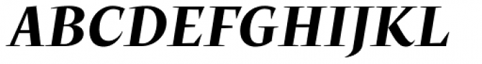Beletria Large Bold Italic Font UPPERCASE