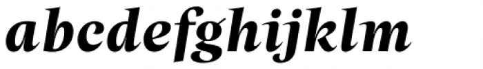 Beletria Large Bold Italic Font LOWERCASE