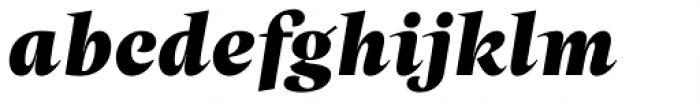 Beletria Large Heavy Italic Font LOWERCASE
