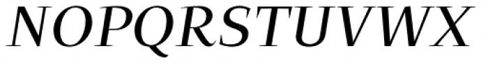 Beletria Large Italic Font UPPERCASE