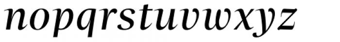 Beletria Large Italic Font LOWERCASE