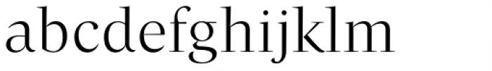 Beletria Large Light Font LOWERCASE