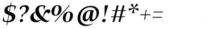Beletria Large Medium Italic Font OTHER CHARS