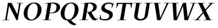 Beletria Large Medium Italic Font UPPERCASE