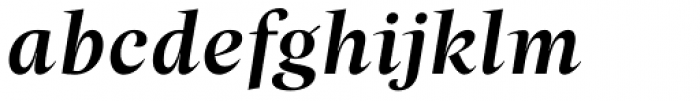 Beletria Large Medium Italic Font LOWERCASE