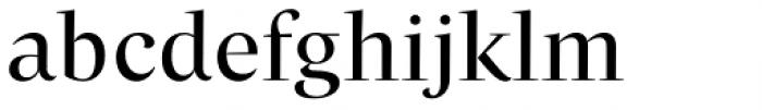 Beletria Large Regular Font LOWERCASE