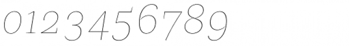 Beletria Large Thin Italic Font OTHER CHARS