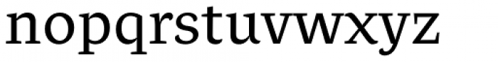 Beletria Regular Font LOWERCASE