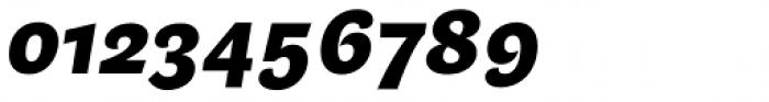Beletrio Heavy Italic Font OTHER CHARS