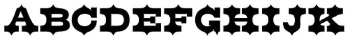 Belgian Black Font UPPERCASE