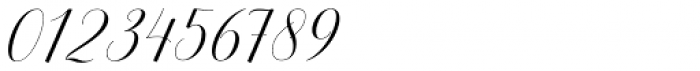 Belgiana Script Regular Font OTHER CHARS