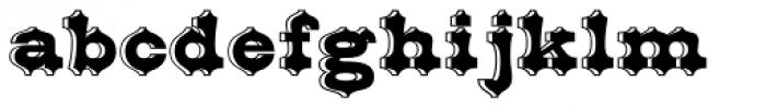 Belgian Font LOWERCASE