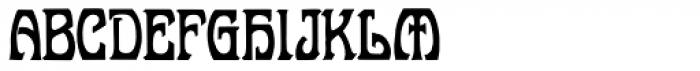 Belgravia Font UPPERCASE