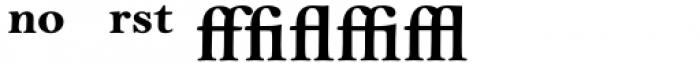 Bell MT Bold Expert Font UPPERCASE