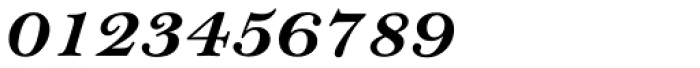 Bell Pro Bold Italic Font OTHER CHARS