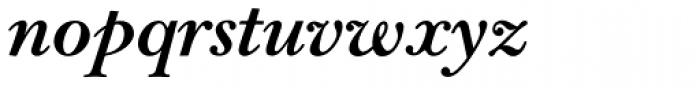 Bell Pro Bold Italic Font LOWERCASE