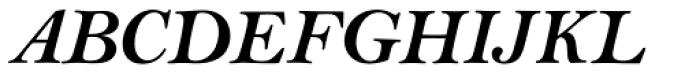 Bell Std Bold Italic Font UPPERCASE