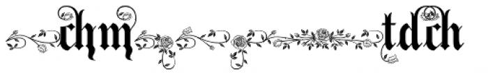Bella Rose Alternates Font OTHER CHARS