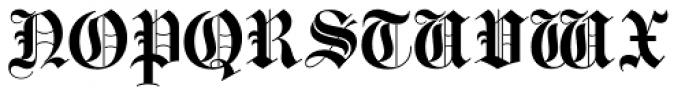 Bella Rose Plain Font UPPERCASE