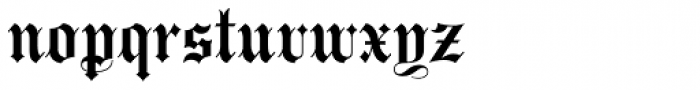 Bella Rose Plain Font LOWERCASE