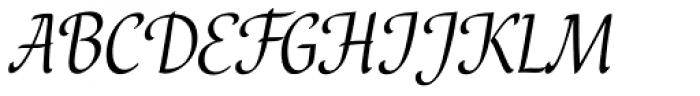 Bella Font UPPERCASE