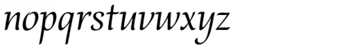 Bella Font LOWERCASE