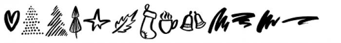 Bellamy Doodles Font LOWERCASE