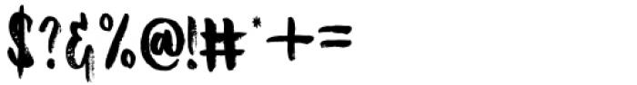 Bellanovie Regular Font OTHER CHARS