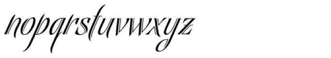 Bellas Artes Font LOWERCASE