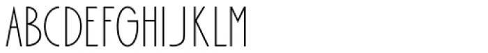 Bellavista Condensed 30 Font LOWERCASE