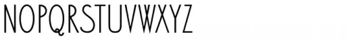 Bellavista Condensed 40 Font LOWERCASE