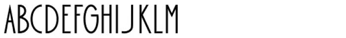 Bellavista Condensed 50 Font UPPERCASE