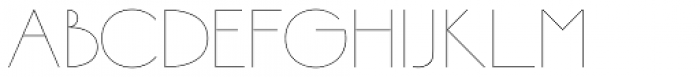 Bellavista Expanded 10 Font LOWERCASE