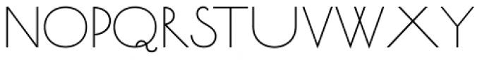 Bellavista Expanded 30 Font LOWERCASE