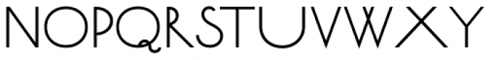 Bellavista Expanded 50 Font LOWERCASE