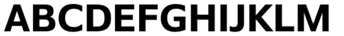 Belle Sans Bold Font UPPERCASE